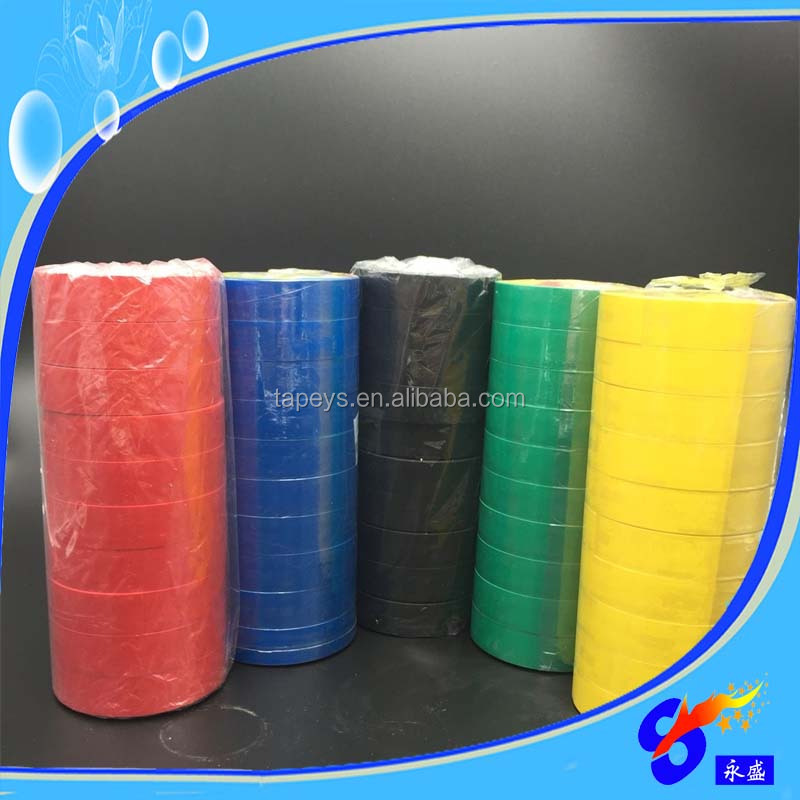 Black Vinyl Electrical PVC insulation Tape supplier