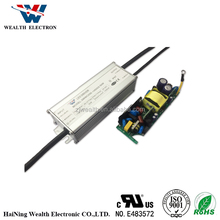 50W IP67 110V 220V AC DC waterproof led driver power supply