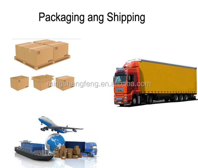 Packaging ang shipping