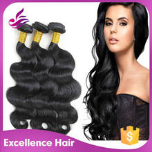 Fast Delivery Best Quality Grade 5A virgin human hair plastic bags for hair extensions