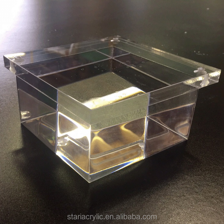 Crystal Clear Acrylic Custome Furniture Bases Table Base Lucite Furniture Legs