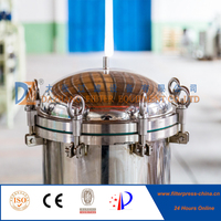 Stainless Steel Single Bag Filter For
