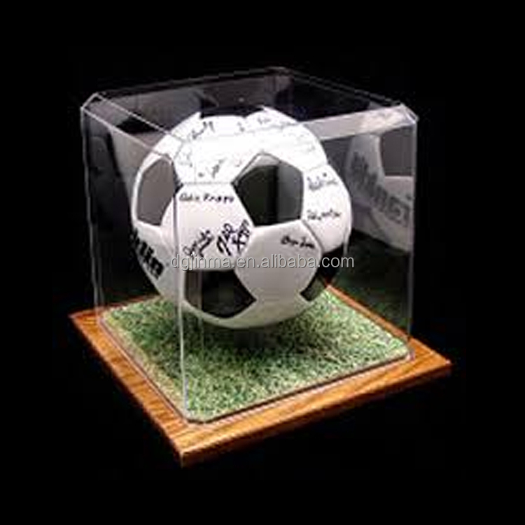 offer clear acrylic football boot display case