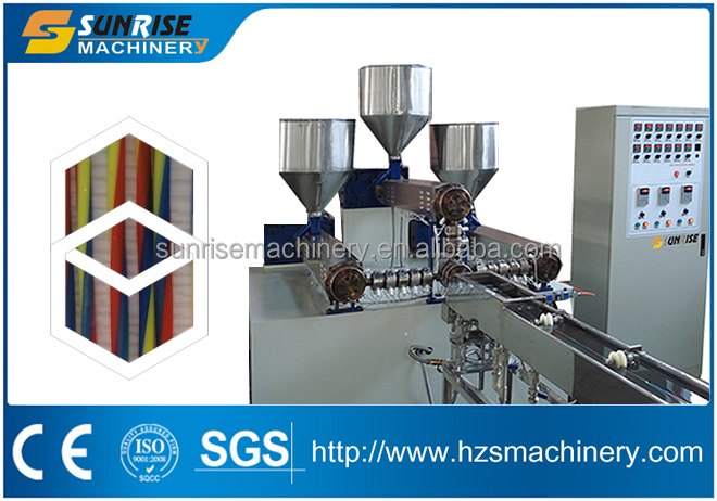 High capacity Spiral Line Straw Making Machine