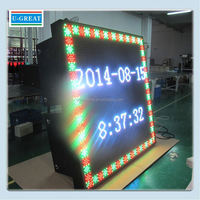 New products 2015 full color with wireless 3G system led sports games sign tv