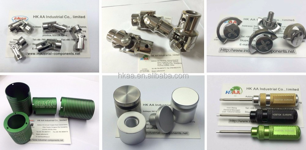 Customized precision steel equipment industrial cardan shaft, universal joint
