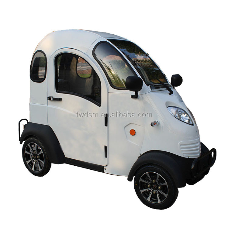 Full enclosed battery operated electric vehicle