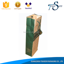 Alibaba export flat handle kraft paper bag products imported from china wholesale