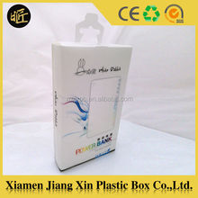 Cellphone case phone charger packaging custom plastic box