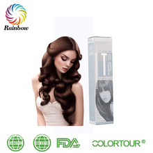 COLORTOUR 100ml Private Label Hair Color Brands european hair color brand No Sensitive For Scalp