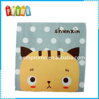Full color Printing Microfiber Lens cleaning cloth