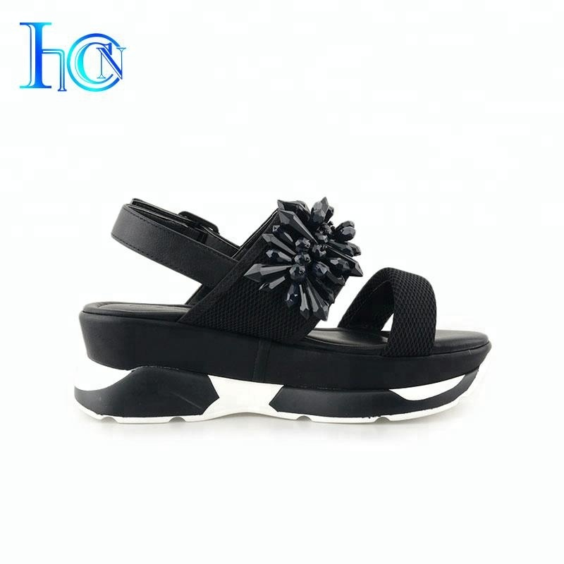 Special Custom China Fabric Flat <strong>Sandals</strong> Women