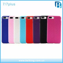 Cheapest Tyre Design Silicone Rubber Phone Case for iPhone 7/7plus, For iPhone 7 plus Gel Back Phone Case Cover