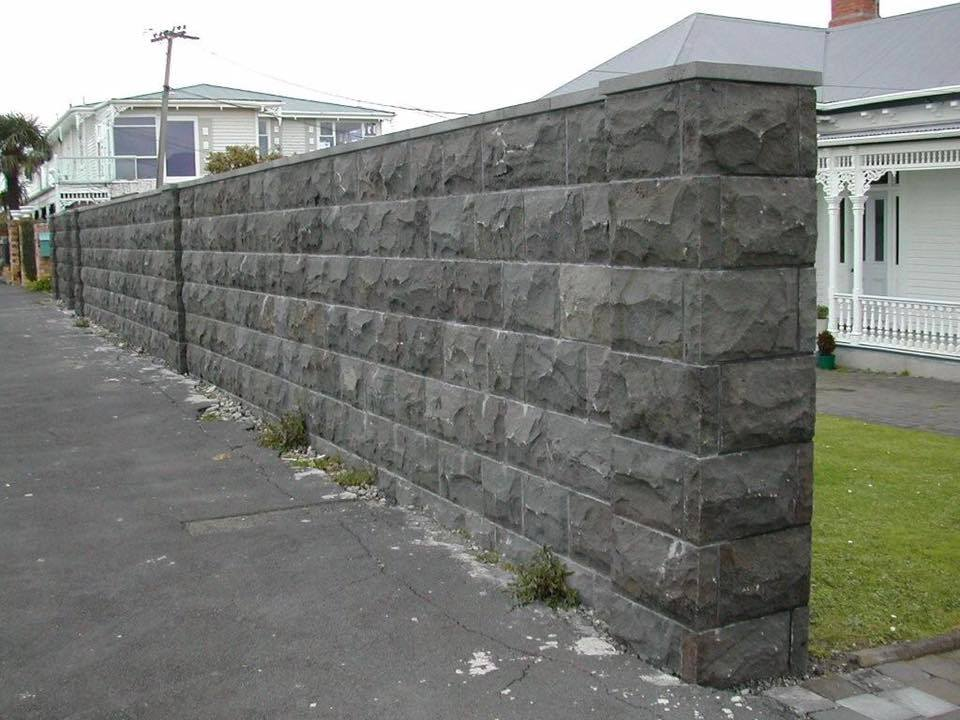 black basalt retaining wall blocks for sale