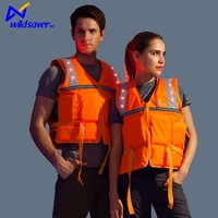 Inflatable Life Vest Jacket Great to Ensure your Safety of Water activities