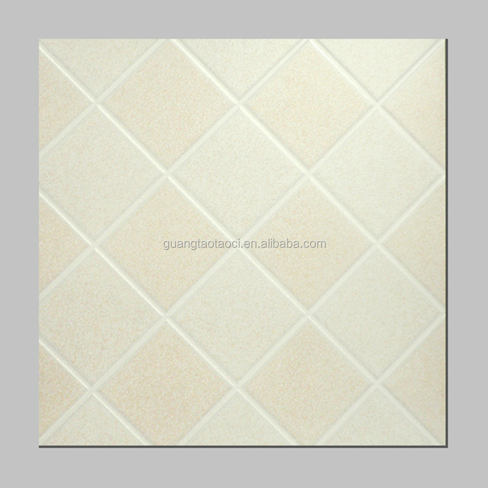 Diamond shaped ceramic tile