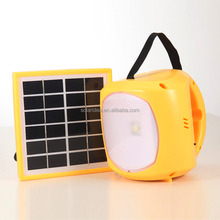 China factory low price top selling solar powered led camping light lantern with radio for africa