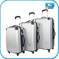 Hot-sell PC+ABS 3pcs trolley suitcase set/luggage