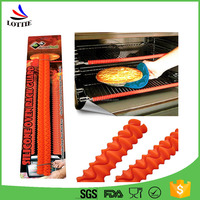 Factory direct food grade Durable and easy to clean heat-resisting silicone Oven Rack Guards,Silicone Baking Strips.