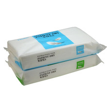 Disposable hydrophilic treatment nonwoven ES medical disinfecting cleaning cloth wipes use in hospital for special care