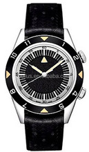 Black man watch new design stainless steel watch african watch