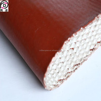 Colorful Waterproofing Fiberglass Silicone Rubber Cloth