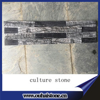 2016 new product high quality natural wall decorative slate culture stone
