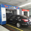 rollover car wash with brush type automatic car washer
