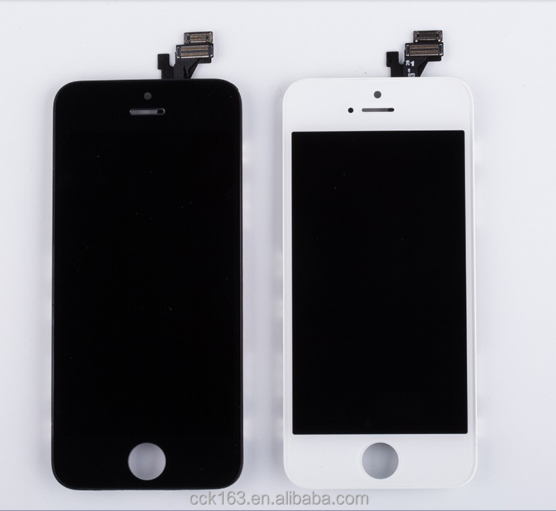 Mobile Phone LCD Display,For iphone 5 LCD Screen Digitizer Assembly Replacement LCD Display for iphone 5