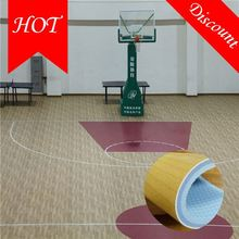 Waterproof sound proof best pvc sports basketball flooring for sale with CE/ISO