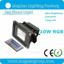 Outdoor Waterproof COB RGB Colour Changing LED Floodlight 10W 20W 30W 50W
