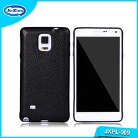 Hot Phone Accessories Stylish Leather Cell Phone Protector Case for Samsung Galaxy Note 4