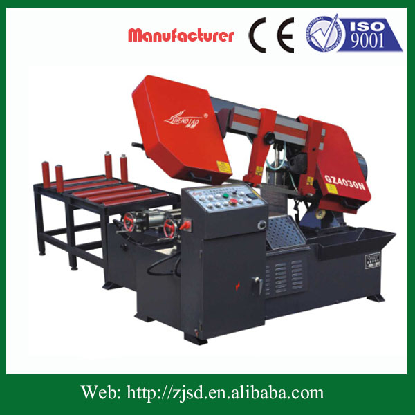 metal wood cutting band saw machine heavy duty band saw