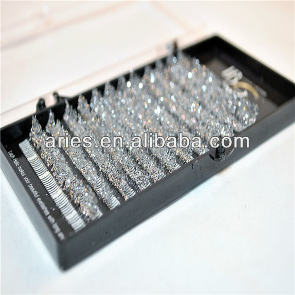 wholesale private label premium mink false individual eyelash extension with customer package