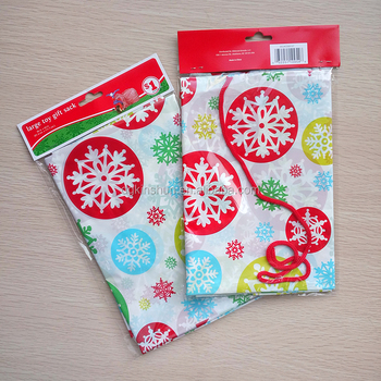 36 x 48 in giant Christmas gift bags party offer snowflake large toy gift sack