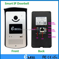 Wireless Visual Doorbell with Intelligent Remote Unlocking,Image Storage,E-calendar,E-thermometer and Night Vision Functions