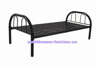 Home bedroom furniture,Adult iron stell bed,Keel iron single Metal bed frame