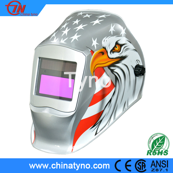 CE ANSI China OEM PP/PA/ABS custom DN9-13 auto darkening welding helmet