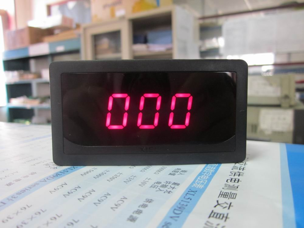 Red led DC digital ammeter Ampere Meter