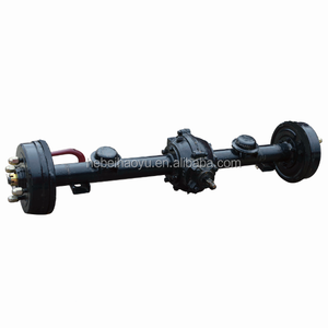 electric tricycle rear axle / tricycle rear differential axle / rear axle for electric car