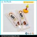 Custom printed plastic heat sealable granola bar package