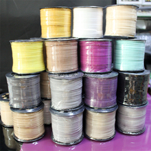 Wholesale DIY accessory cord leather lace rope suede cord for bracelet and necklace