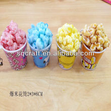 Fake Mini Popcorns Simulation Mini Fruits and Vegetables For Toy Promotion Gifts