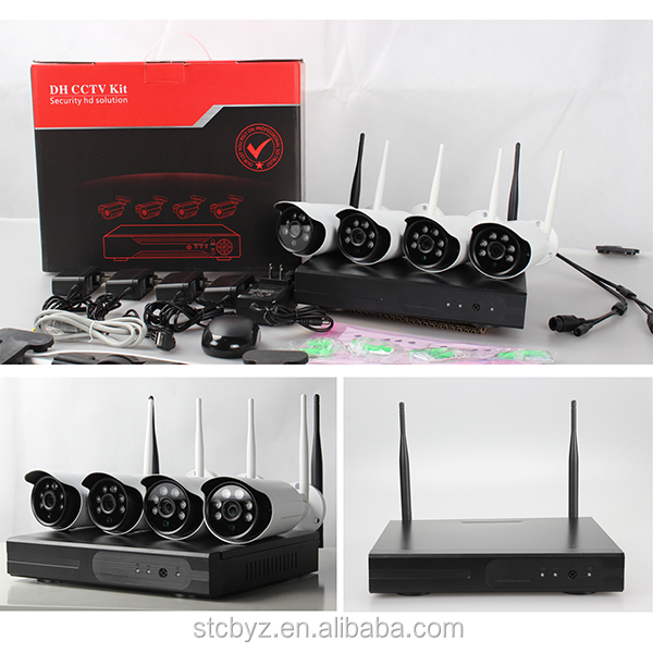 Latest technology camera kit complete security hd cctv camera system