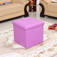 Living Room Furniture Type Folded Cube Pouffe