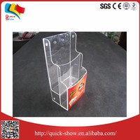 High transparent/wholesale acrylic cupcake display case acrylic case