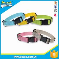 Washable Adjustable Nylon And Ribbon Pet Collars For Dog