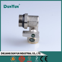 Water self closing ball valve
