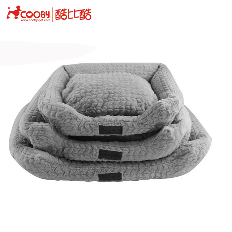 Attractive appearance Polyprophylene private label dog bed with Non-slip dot base