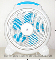 12'' box/desk fan with timer, stall switch and copper motor WBF060